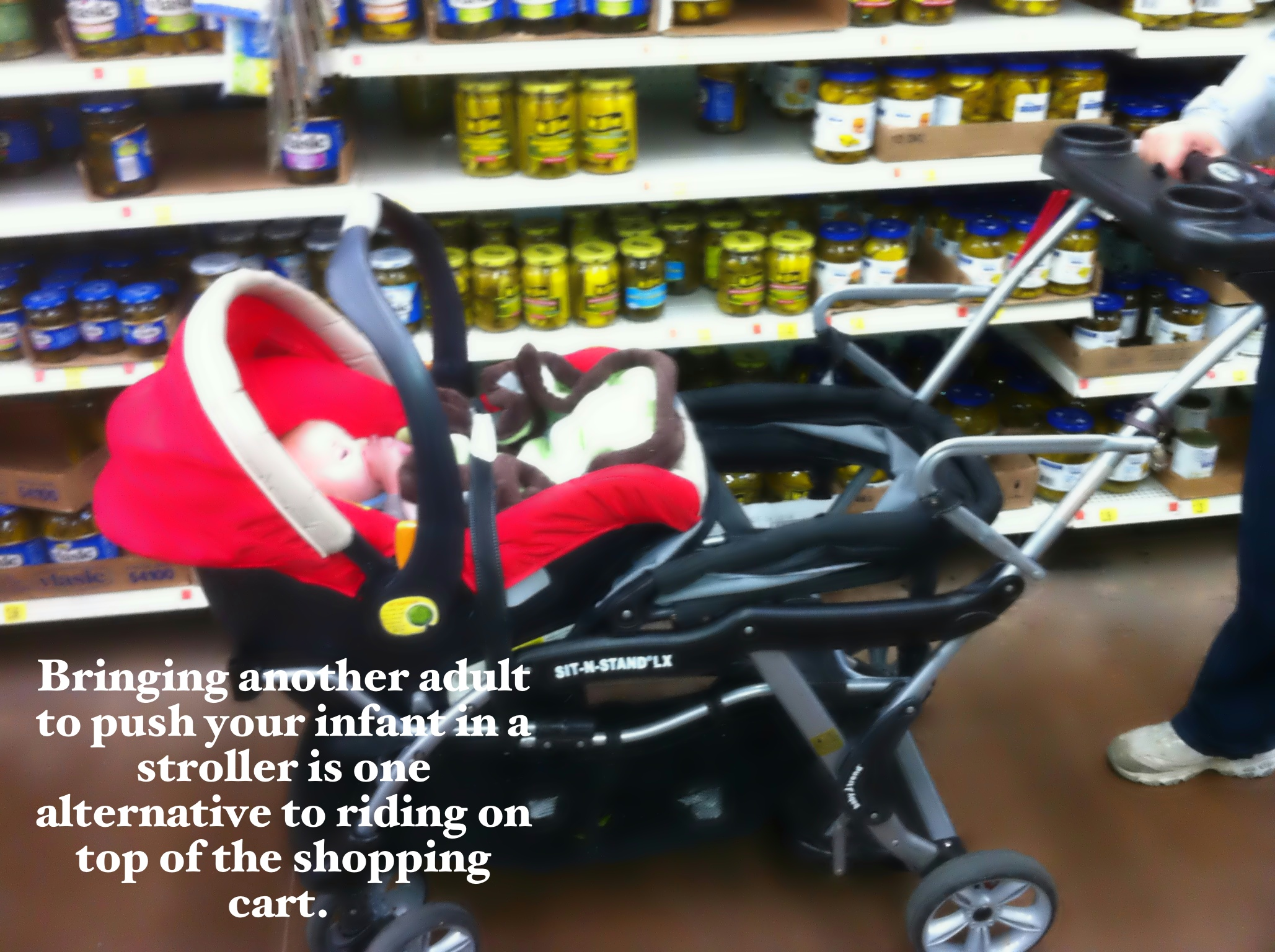 Think Twice About Putting Your Baby In A Shopping Cart