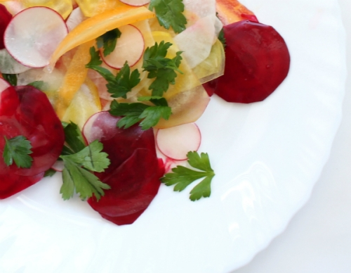Beet, Radish and Carrot Salad