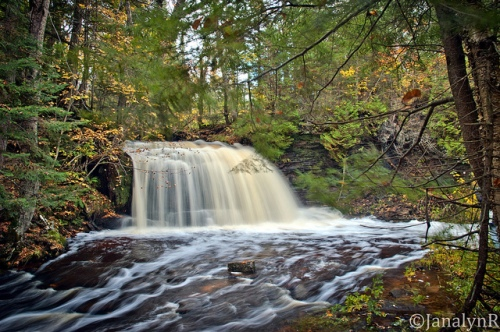 Photo of Rock River Falls in Munising, MI