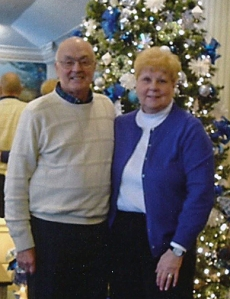 Sharon with her husband, Bill