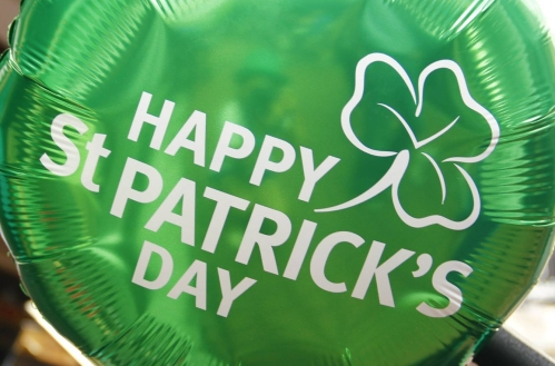 Happy St Patrick's Day balloon