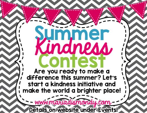 summer kindness contest