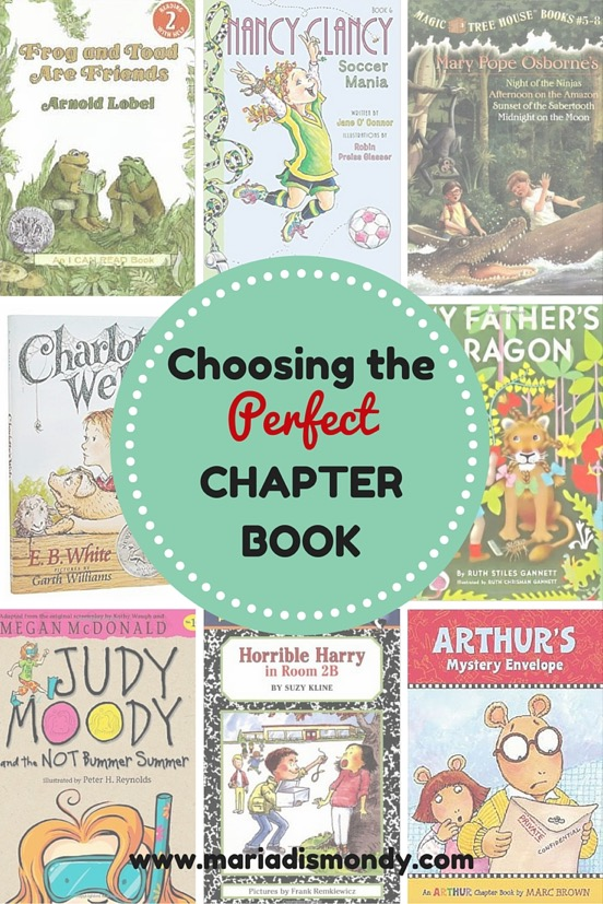 Covers of chapter books for younger readers