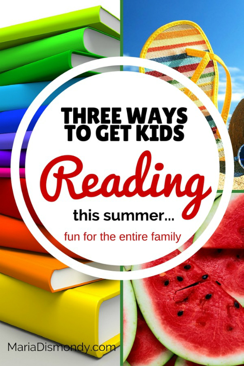 Three ways to get kids reading this summer