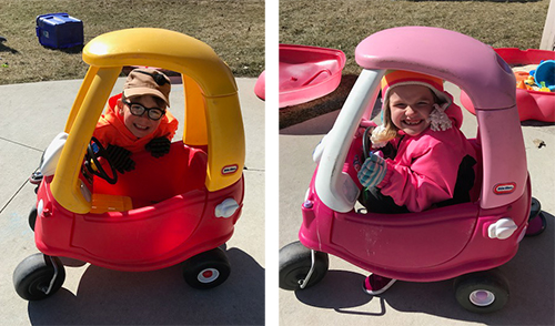 cozy coupe combo