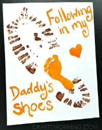 footstep prints from craftymorning.com