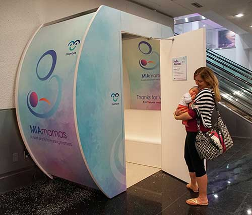 MIAmamas nursing pod for breastfeeding mothers