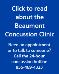 read about Beaumont's concussion clinic