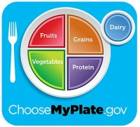 portion control plate infographic