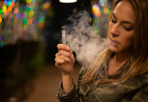 teen vaping, e-cigarette
