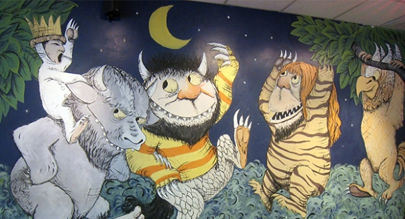 "Mural of ""Where the Wild Things Are"""